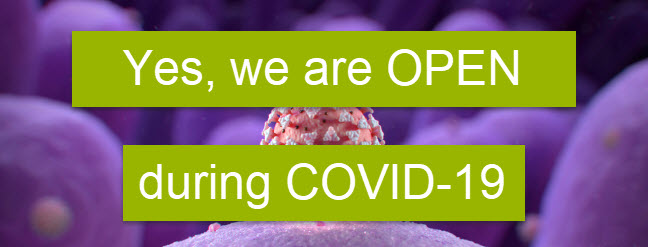 Yes we are OPEN during COVID-19